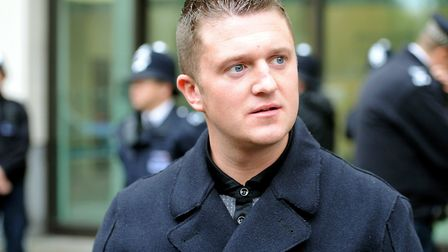 Tommy Robinson. PA Archive/PA Images