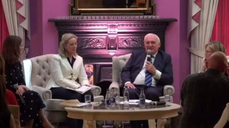 """Former Taoiseach Bertie Ahern tells the Women in Media conference that Jacob Rees-Mogg is """"a lovely"""