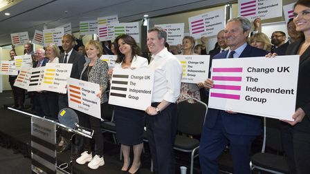 Change UK at their EU elections launch. Picture: Nicola Tree / Getty Images