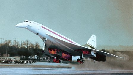 UNITED KINGDOM - JANUARY 01: The prototype of the CONCORDE 002 in Bristol, Great Britain, during on
