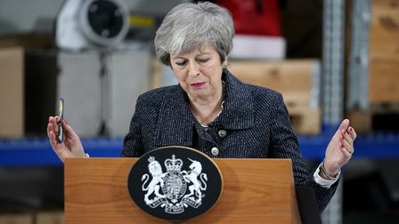 Prime minister Theresa May. Picture: CHRISTOPHER FURLONG/AFP/Getty Images.