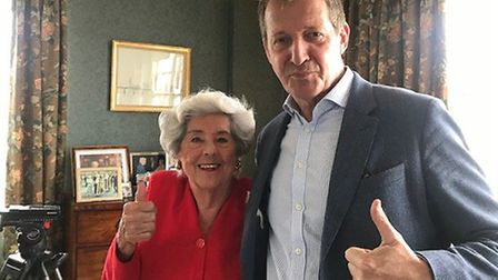 Betty Boothroyd spoke to Alastair Campbell about her return to frontline politics. Picture: Supplied