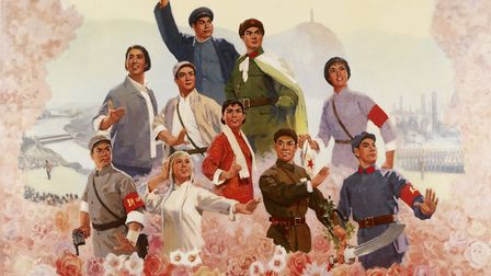 Ding Jiasheng's 'Long Live the Triumph of Chairman Mao's Revolutionary Line for Literature and Art!,