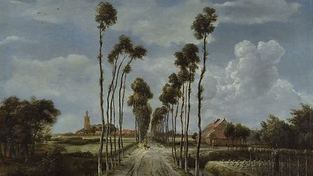 'The Avenue at Middelharnis', 1689 by Meindert Hobbema. Picture: The National Gallery, London/Wikipe
