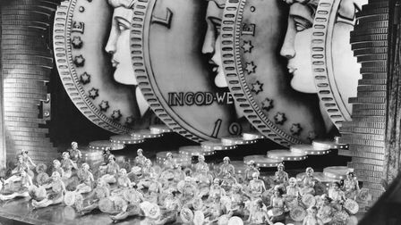 'We're In The Money' from 'Gold Diggers of 1933' was one of the year's biggest hits. Picture: Getty