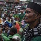 Bangsamoro supporters flock to the streets to show support to the Bangsamoro Organic Law. Fighting b