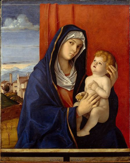 Giovanni Bellini's Madonna and Child, late 1840s. Photo: The National Gallery London.