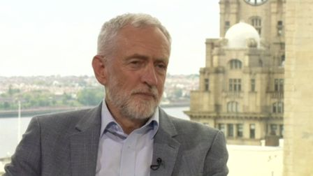 Labour leader Jeremy Corbyn said he is not 'staunchly against free movement' after Brexit. Picture: