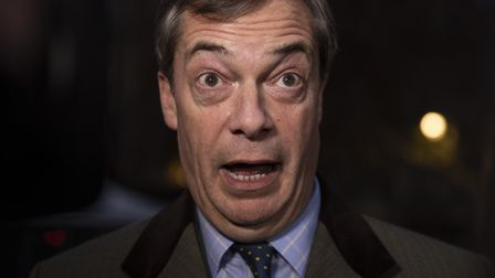 Brexit Party leader Nigel Farage. (Photo by Dan Kitwood/Getty Images)