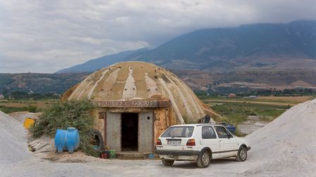 Bunkers from the book 'Metamorphosis: The Reuse of Albanian Bunkers from the Communist Era'