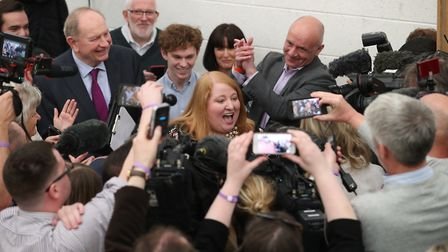 Alliance party leader Naomi Long is one of a new wave of pro-Europe MEPs. Photo credit: Liam McBurne
