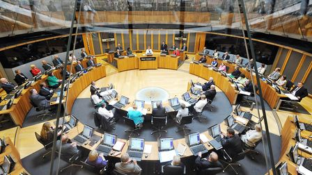 The Senedd in Cardiff Bay. Picture: Tim Ireland/PA Archive/PA Images
