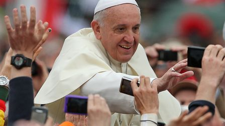 Pope Francis (question two) Picture: PA Images/Niall Carson