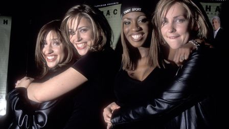 Girls on top: pop group All Saints attend the 1998 TNT Television Concert Special in New York. (Phot