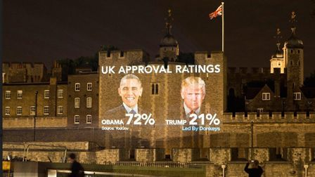 Led By Donkeys trolls Donald Trump with a reminder of his approval rating. Photograph: ByDonkeys/Twi