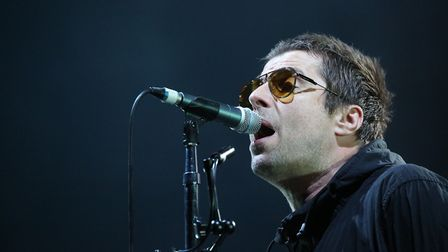 Liam Gallagher performing on the first day of Rize Festival at Hylands Park, Chelmsford. (Isabel Inf
