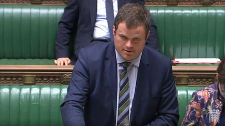 Cabinet Office minister Kevin Foster. Photograph: Parliament TV.