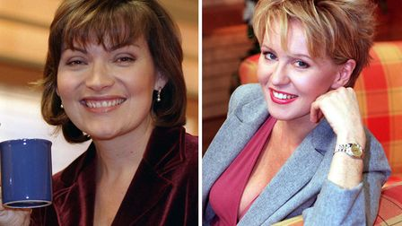 Lorraine Kelly and Esther McVey in their GMTV days. Photograph: PA/PA Wire