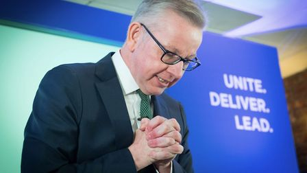 Michael Gove launches his campaign to become leader of the Conservative and Unionist Party. (Stefan