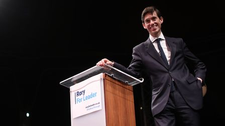 Rory Stewart at the launch of his campaign to become leader of the Conservative and Unionist Party.