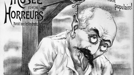 A caricature from the 'Museum of Horrors' at the time of the Dreyfus Affair, one of the most serious