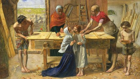 The Pre-Raphaelite Brotherhood were catapulted to notoriety by the unveiling of 'Christ in the House