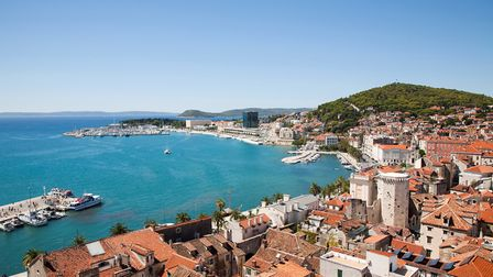 Heart of tourism: the Croatian town of split. Picture: Getty Images
