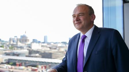 Liberal Democrat leadership candidate Sir Ed Davey. Picture: Dinendra Haria/SOPA Images/LightRocket