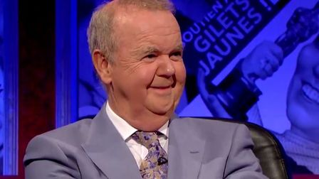 Ian Hislop made his feelings clear during a segment of Have I Got News For You discussing the Boris