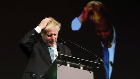 Former UK foreign secretary Boris Johnson. Photograph: Brian Lawless/PA.