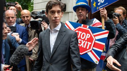 Former Conservative party leadership contender Rory Stewart. Photograph: Dominic Lipinski/PA Wire