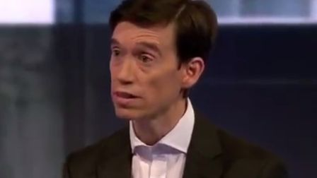 "Rory Stewart said that his performance was ""lacklustre"" in the BBC Our Next Leader debate. Picture: BBC"