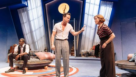 A scene from the comic play Present Laughter. Picture: Manuel Harlan