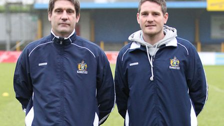 St Albans co-managers Graham Golds and James Gray