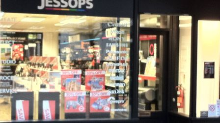 Jessops situated in The Maltings Shopping Centre