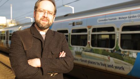 Rev Andrew O'Brien got fined for travelling by train on a group ticket with three people when he had
