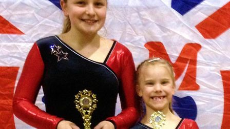 MOVING ON UP: Katherine Marson and Carys Verdicchio were both upgraded at Brentwood at the weekend.