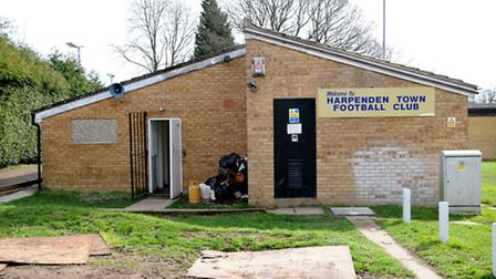 Harpenden Town Football Club. State of disrepair.