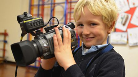 There are ample opportunities for youngsters to learn about film at the festival