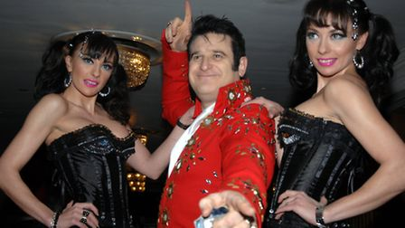 Elvis Shmelvis with The Cheeky Girls