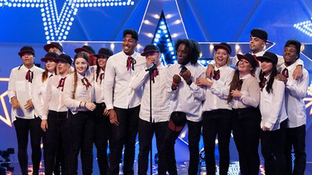 Collective ENT performing on Got To Dance series 4 on Sky 1 HD
