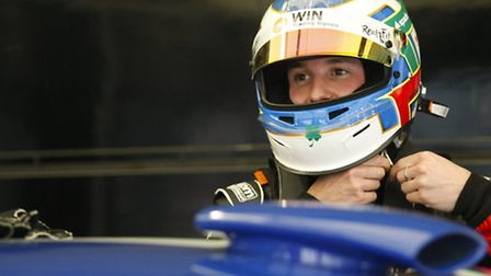 MILLER TIME: Australian racing driver Ash Miller is determined to make a name for himself in the UK.