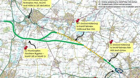 Option for upgrading/developing the A14