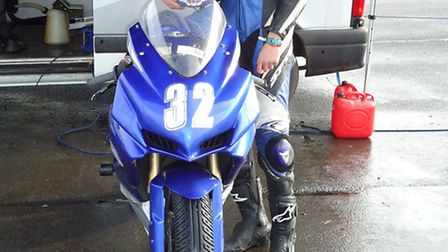 St Albans Motorcycle racer Nick Clift