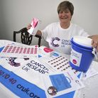 Cancer Fundraiser Anglie Chatten from St Neots