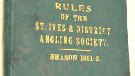 THE GREEN BOOK: A rule book from the turn of the 19th century, a part of the rich history of St Ives