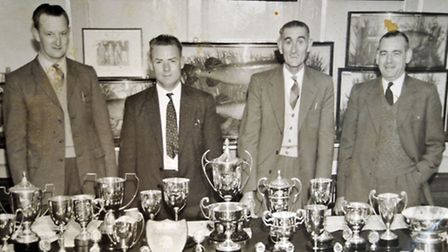 BACK IN THE DAY: A photo of members with their trophies from ST Ives & District AS's archives. Pictu
