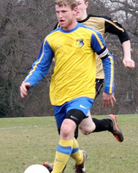 St Albans IFC skipper was in unstoppable form, scoring six goals.