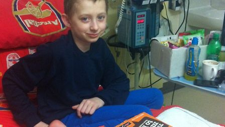 Free of cancer at last. St Albans boy Bailey Sarwa gets the all-clear after battling a recurrence of