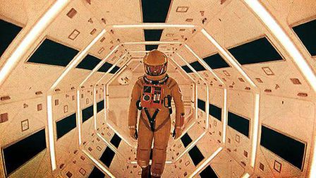 A scene from Stanley Kubrick's 2001: A Space Odyssey